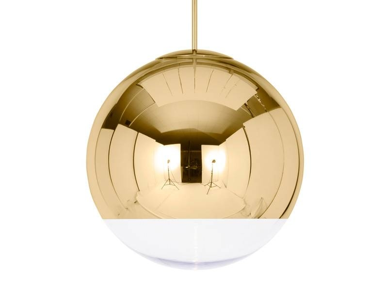 Buy The Tom Dixon Mirror Ball Pendant Light Gold At Nest.co (#6 of 15)
