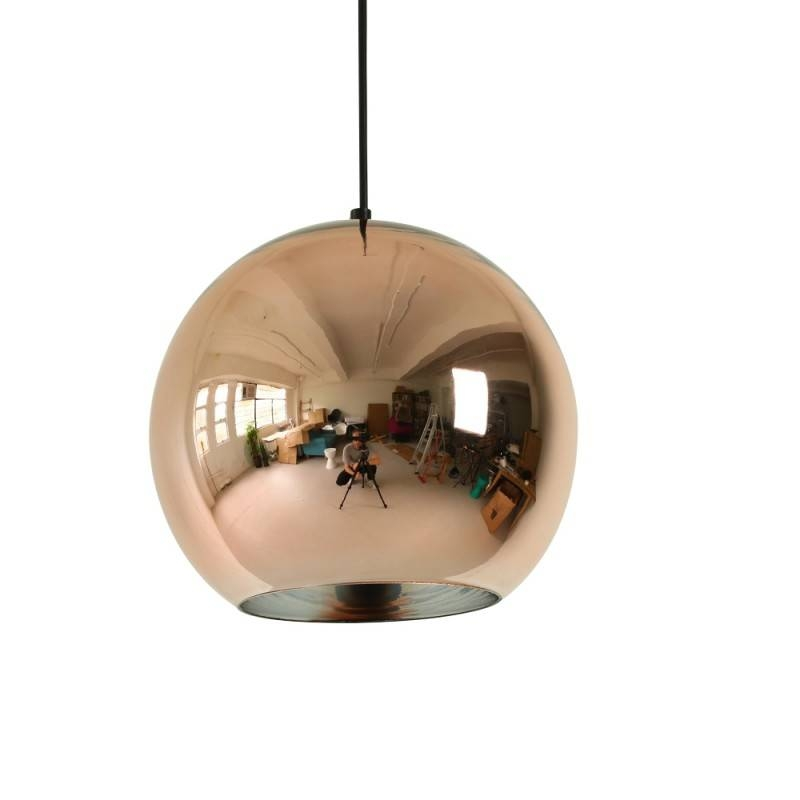 Buy Tom Dixon Style Copper Shade Pendant Lights At 20% Off With Regard To Most Current Tom Dixon Copper Shade Pendants (#3 of 15)