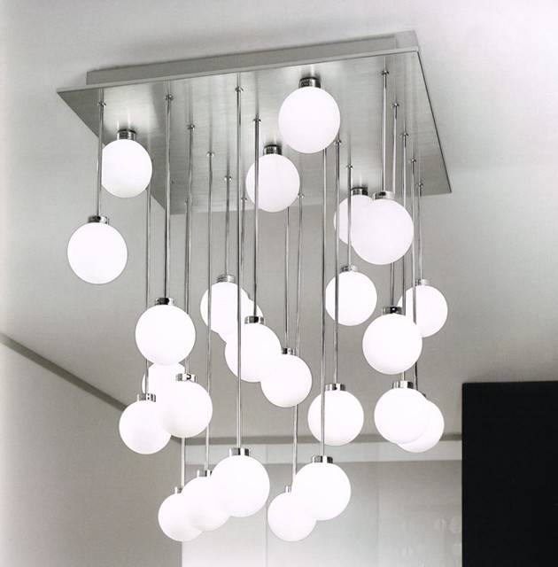 Ceiling Lighting: Contemporary Ceiling Lights Interior Design Throughout Latest Modern Ceiling Pendants (#9 of 15)