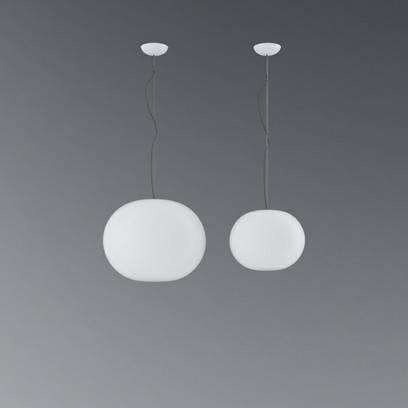 Cgsputnik: 3D Model Flos Glo Ball Pendant Lamp Set 1025 Intended For Latest Glo Ball Pendants (#1 of 15)