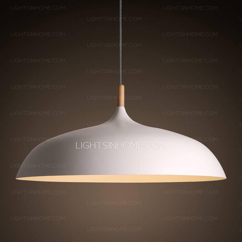 Cheap Pendant Lights, Glass Pendant Lights Inside Most Current Large White Pendant Lights (#6 of 15)