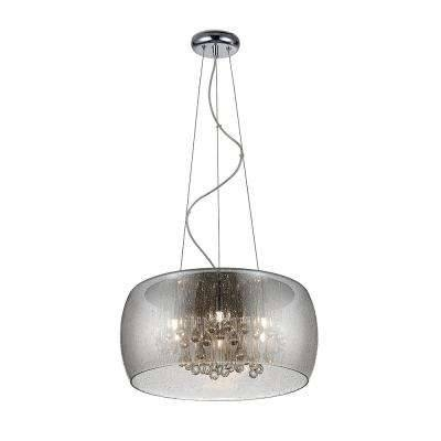 Chrome – Pendant Lights – Hanging Lights – The Home Depot For Recent Chrome Pendant Lights (#4 of 15)