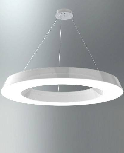 Circular Pol 2057/bi Large Pendant Lightmartinelli Luce Pertaining To Latest Large Pendant Lights (#5 of 15)