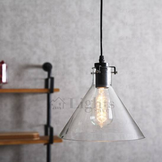 Classic Black Wrought Iron And Glass E27 Mini Pendant Lights With Most Recent Classic Pendant Lights (#4 of 15)