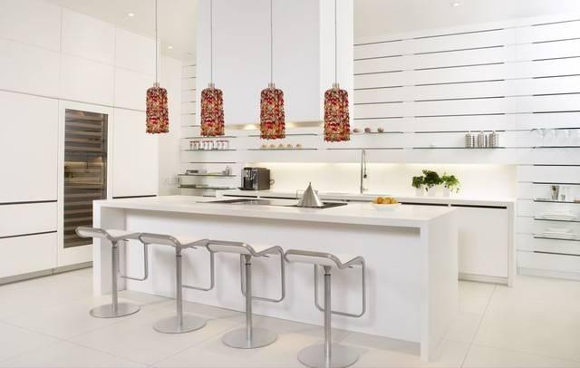Colorful Crystal Modern Mini Pendant Lighting – Modern – Kitchen Throughout 2017 Modern Kitchen Pendant Lighting (#5 of 15)