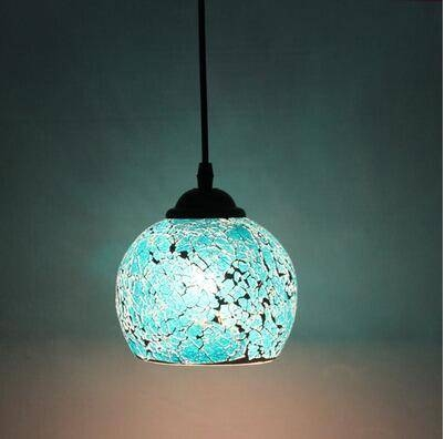 Compare Prices On Black Mosaic Pendant Lights  Online Shopping/buy With Regard To Most Recently Released Mosaic Pendant Lights (#3 of 15)