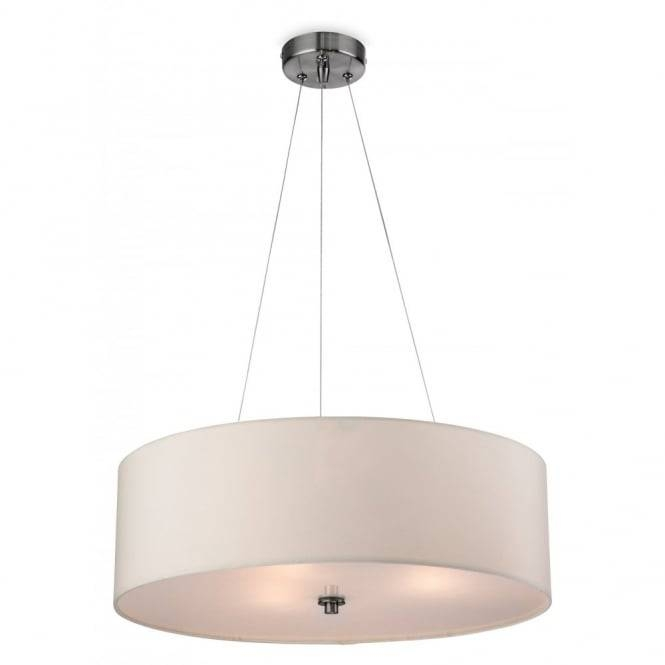 Contemporary Cream Ceiling Pendant With Glass Diffuser Regarding Most Recently Released Modern Ceiling Pendant Lights (#8 of 15)