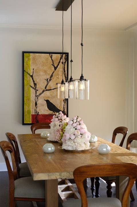 Contemporary Pendant Lighting Adorable Contemporary Pendant Regarding Latest Pendant Dining Lights (#4 of 15)