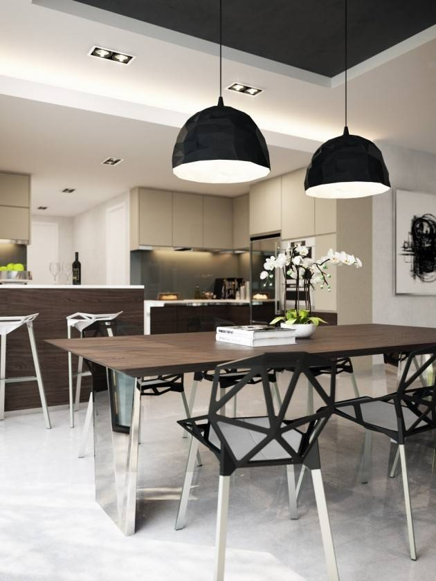 Contemporary Pendant Lighting For Dining Room Amazing Ideas Retro In Most Popular Pendant Dining Lights (#5 of 15)
