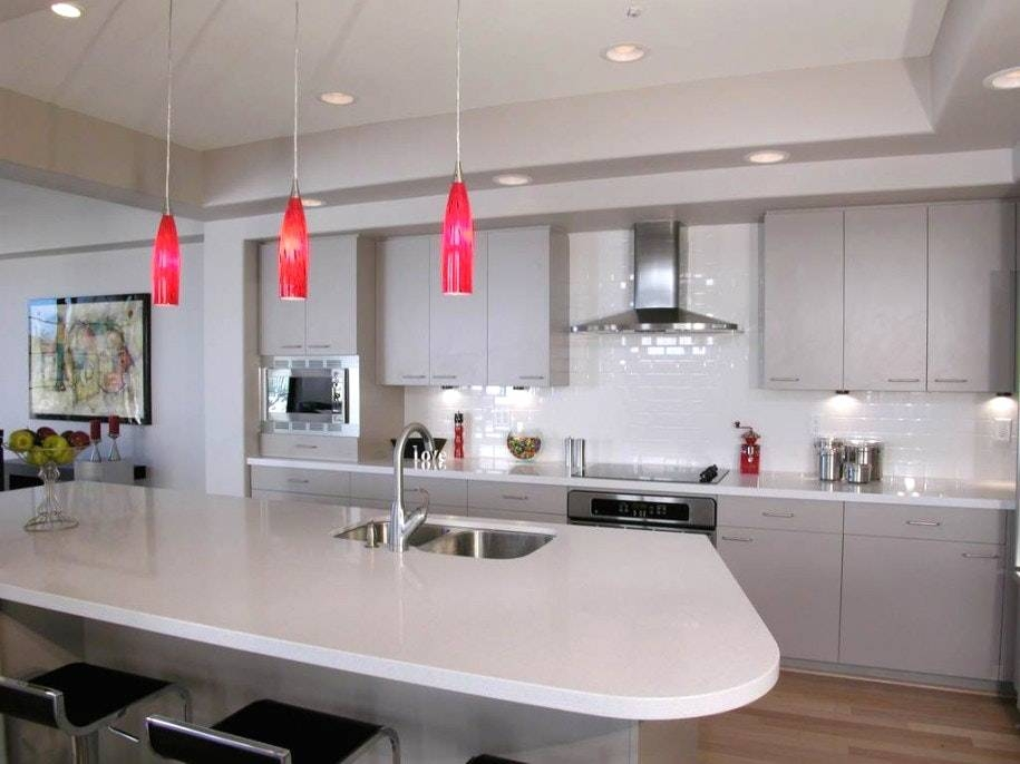 Contemporary Pendant Lights For Kitchen Island | Lightings And With Regard To Most Current Contemporary Pendant Lighting For Kitchen (#4 of 15)