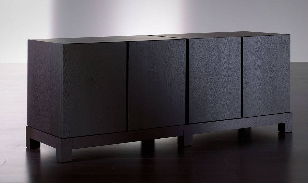 Contemporary Sideboard / Wooden – Douglas – Meridiani Pertaining To Black Wood Sideboards (#3 of 15)