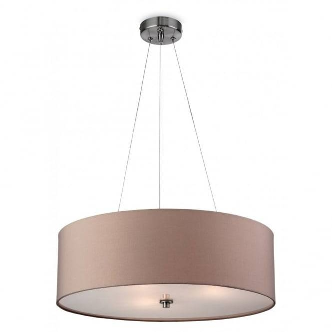 Contemporary Taupe Ceiling Pendant With Glass Diffuser For Best And Newest Contemporary Pendant Lighting (#8 of 15)