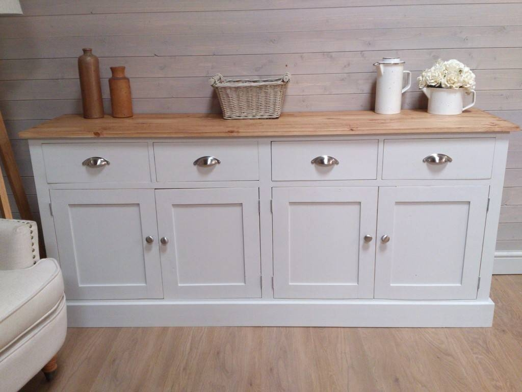 Contemporary White Buffet Table — New Decoration : Decorate A In Large White Sideboards (View 12 of 15)