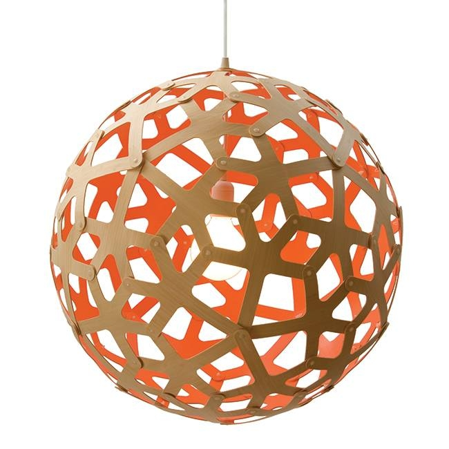 Coral Pendant Natural – Painted | David Trubridge | Horne Pertaining To Coral Replica Pendant Lights (View 4 of 15)