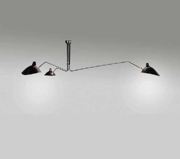 Creative Black New Modern Design Chandelier Lighting Suspension With Regard To Most Recently Released Spider Pendant Lights (View 13 of 15)