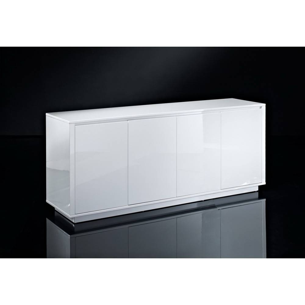 "Creative Furniture"" Blanch High Gloss White Buffet Within Gloss White Sideboards (View 10 of 15)"