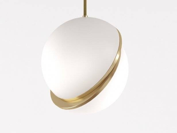 Crescent Pendant Light 3D Model | Lee Broom Regarding Most Recently Released Crescent Pendant Lights (#9 of 15)