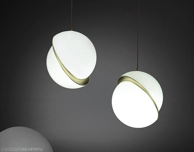 Crescent Pendant Light – Cafe Culture + Insitu With Regard To Recent Crescent Pendant Lights (#8 of 15)