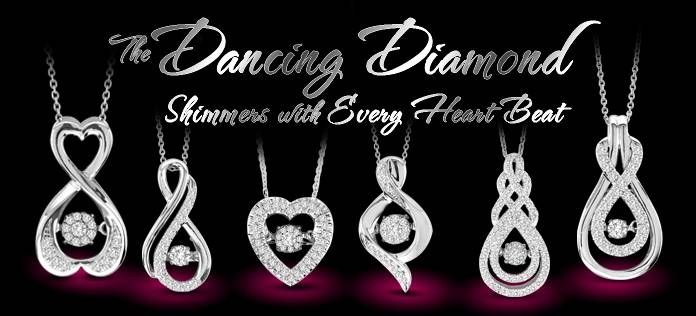 Dancing Diamond Pendant Jewelry | Ridgewood Ny | Queens Ny For Most Recently Released Dancing Pendants (View 13 of 15)