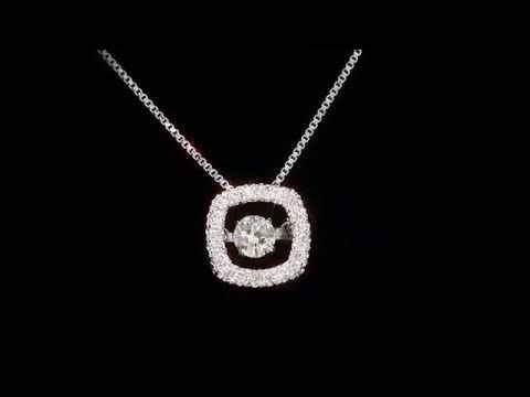 Dancing Diamond Pendant Prices From $ (View 6 of 15)