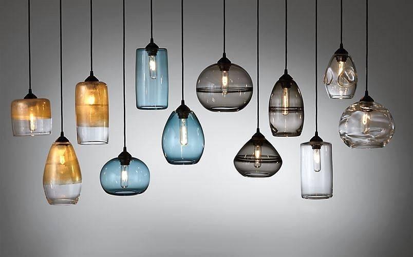 Popular Photo of Designer Glass Pendant Lights