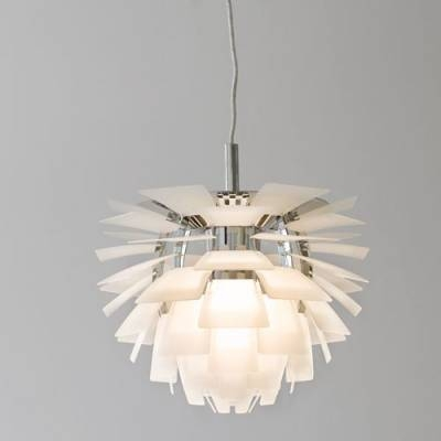 Designer Lighting Ph Artichoke Pendant In White – Beautifulhalo Inside Most Popular Artichoke Pendants (View 9 of 15)