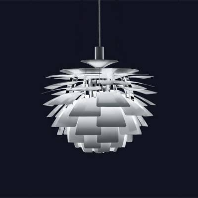 Designer Lighting Ph Artichoke Pendant In White – Beautifulhalo Intended For Most Up To Date Artichoke Pendants (View 10 of 15)
