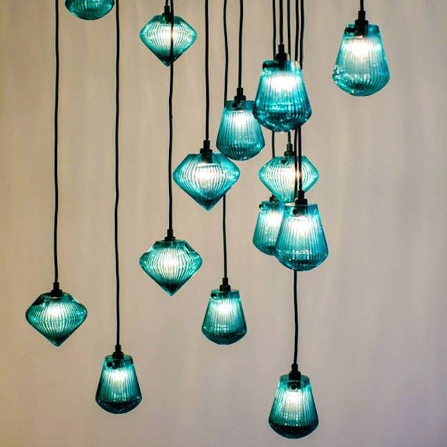 Designs Ideas : Blue Glass Bead Pednant Light Design Ideas For 2018 Glass Bead Pendant Lights (View 3 of 15)