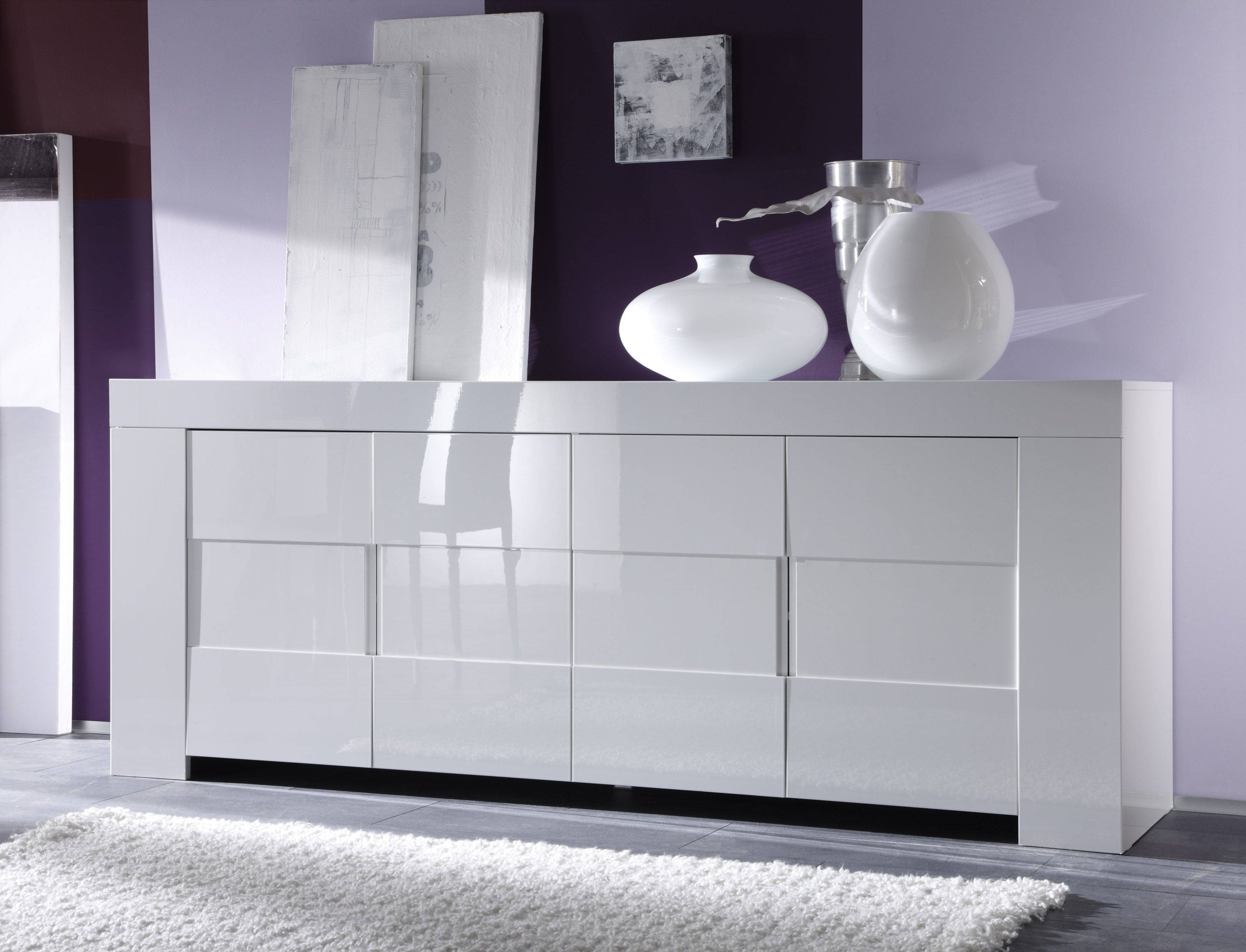 Dining Room Buffets, Kitchen Sideboards, Server And Storage Units Throughout Gloss White Sideboards (View 14 of 15)
