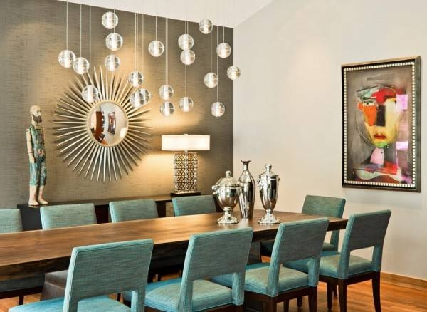 Dining Room Pendant Lighting Fixtures » Gallery Dining Pertaining To 2017 Modern Pendant Lighting For Dining Room (View 13 of 15)