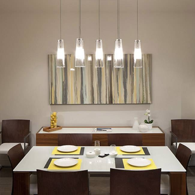 Popular Photo of Pendant Lights For Dining Table