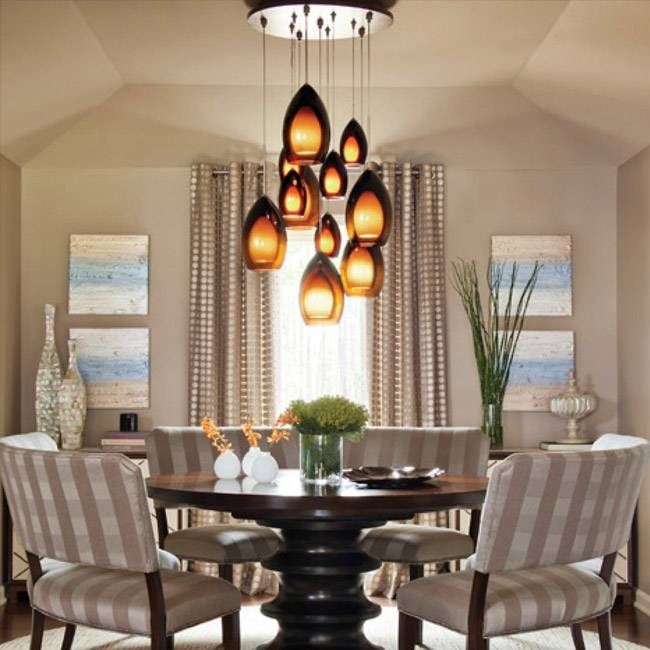 Dining Room Pendant Lighting Ideas & Advice At Lumens With Most Popular Dining Table Pendants (#5 of 15)