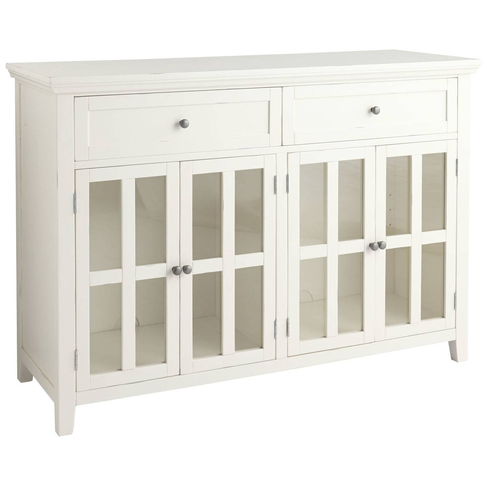 dining room sideboard white. Dining Room Sideboard White  Gen4Congress With Regard To Glass Sideboards 7 of 15 Best Collection