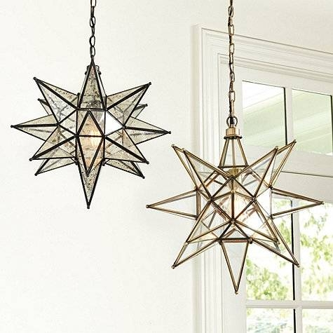 Dining Room Star Pendant Light Fixture Moravian Energy – Tipspro Inside 2018 Star Pendant Lights (#5 of 15)