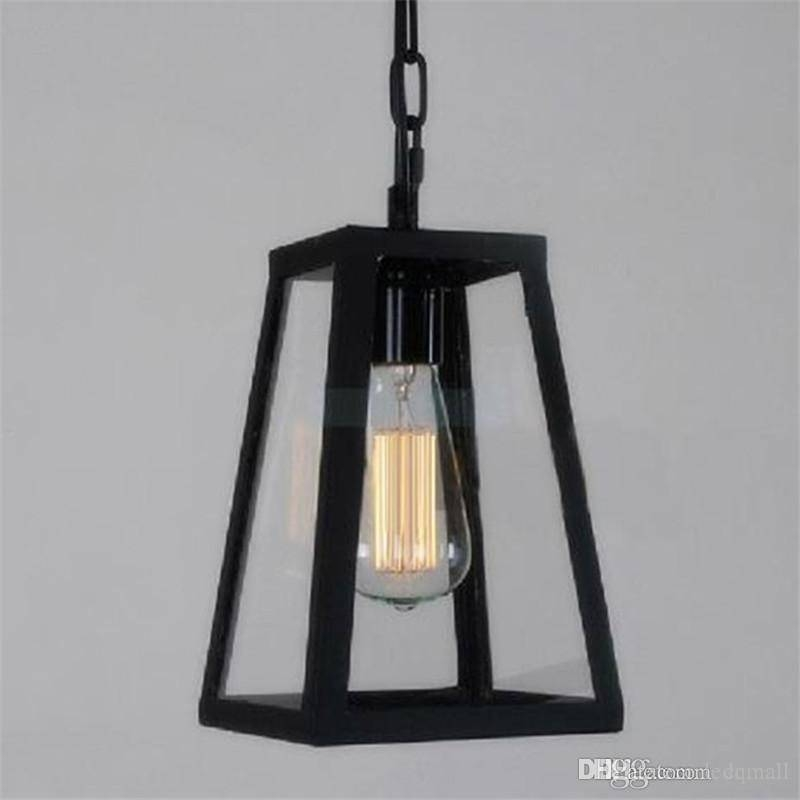 Popular Photo of Box Pendant Lights