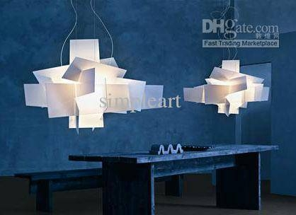 Discount 90Cm White Large Modern Big Bang Pendant Lamp Ceiling Inside Recent Large Modern Pendant Lights (#4 of 15)