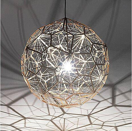 Discount Abajur New Geometry Tom Dixon Etch Web Diamond Pendant Inside Most Popular Tom Dixon Etch Web Pendants (#1 of 15)