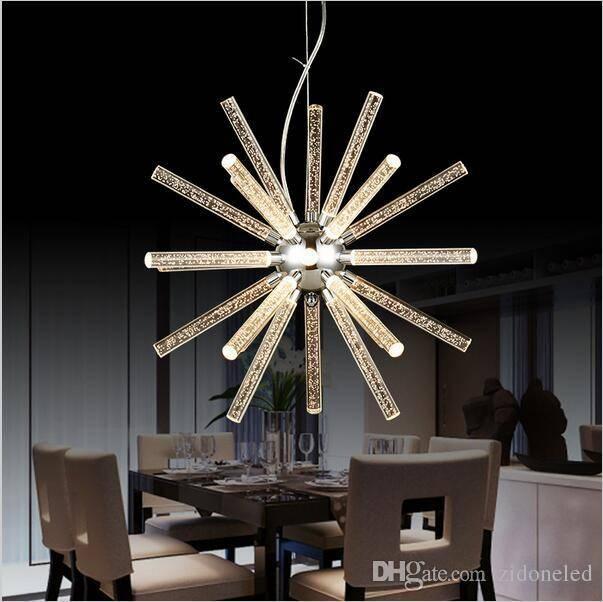Discount Creative Modern Minimalist Modern Led Hanging Pendant With 2018 Modern Led Pendant Lights (#4 of 15)