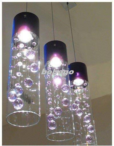 Discount Glass Shade Crystal Ceiling Lighting Pendant Lamp Light X Within Most Recently Released Glass Pendant Lights Shades (#9 of 15)