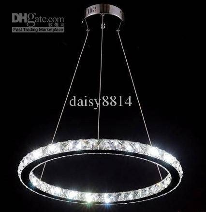 Popular Photo of Crystal Led Pendant Lights