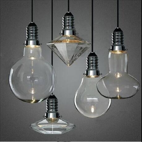 Discount Led 3W Modern Creative Glass Pendant Lights Crystal Inside Current Designer Glass Pendant Lights (#10 of 15)