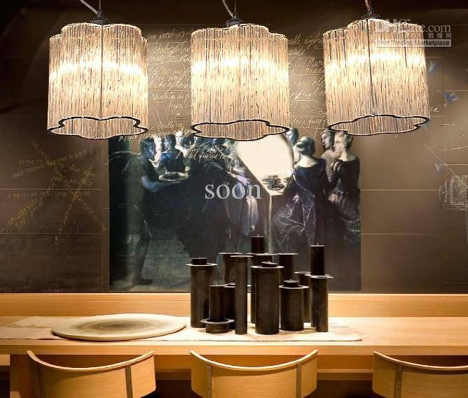 Discount Modern Fashion Personality Glass Chandelier Dining Room For 2017 Modern Contemporary Pendant Lighting (#7 of 15)