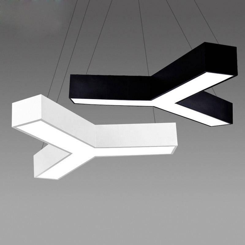 Discount Modern Led Pendant Light Fixture Triangle Led Suspension Inside 2017 Modern Led Pendant Lights (#5 of 15)