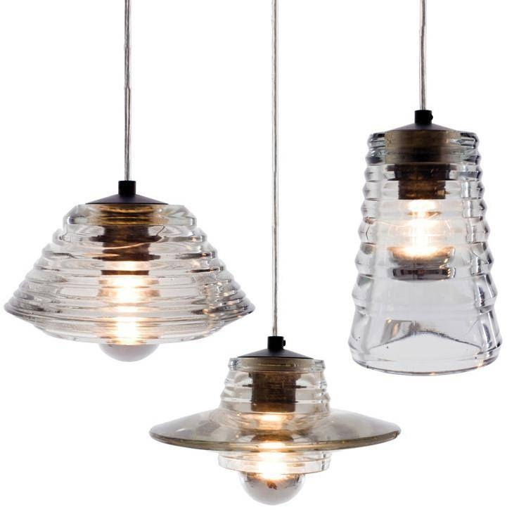 Discount Tom Dixon Pressed Glass Pendant Lens Bowl Tube Lamps With Current Tom Dixon Glass Pendants (#3 of 15)