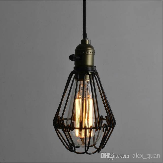 Popular Photo of Wrought Iron Pendant Lights