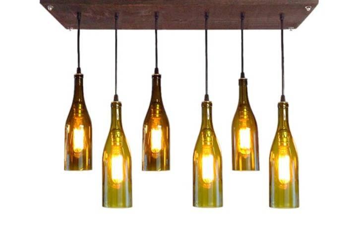 Diy Pendant Lights « Inhabitat – Green Design, Innovation For Wine Bottle Pendant Light (View 8 of 15)
