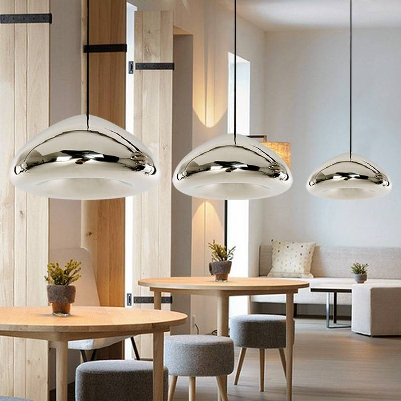 Durante Flying Saucer Pendant Lamp Pertaining To 2017 Saucer Pendant Lamps (#5 of 15)