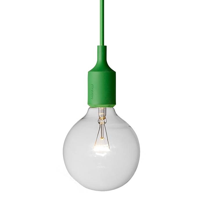 E27 Pendant Light Green | Muuto | Horne Throughout Most Up To Date E27 Pendant (#12 of 15)