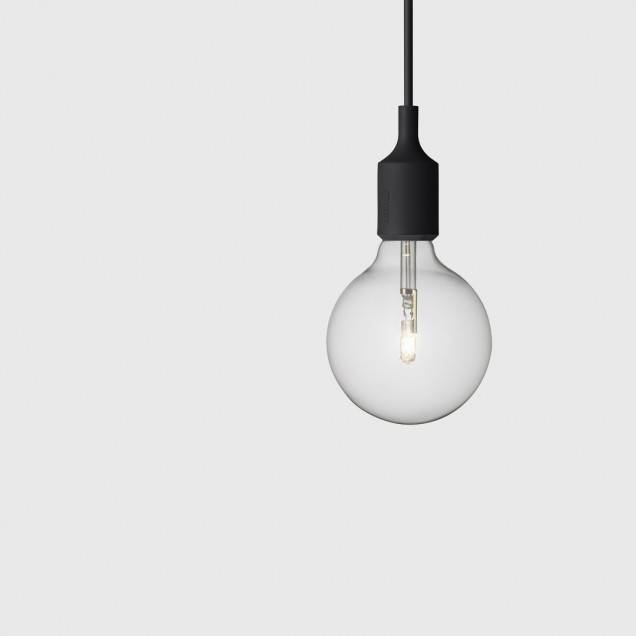 E27 Pendant Light In Black – Muuto – Living Edge Pertaining To Latest E27 Pendant Lamps (#13 of 15)