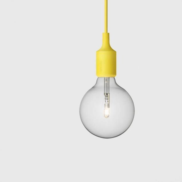 E27 Pendant Light In Yellow – Muuto – Living Edge With Best And Newest E27 Pendant (#14 of 15)